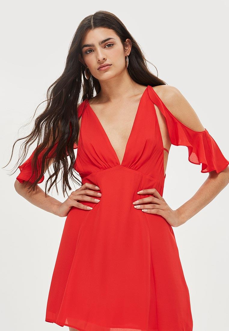Вечернее / коктейльное платье Topshop (Топ Шоп) 35W12NRED: изображение 1
