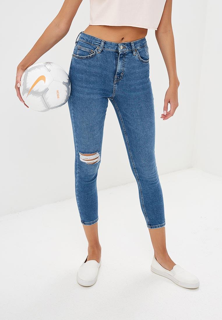 Зауженные джинсы Topshop (Топ Шоп) 02K49NMDT
