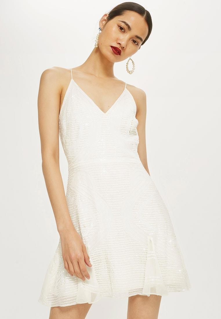 Вечернее / коктейльное платье Topshop (Топшоп) 35E08NIVR