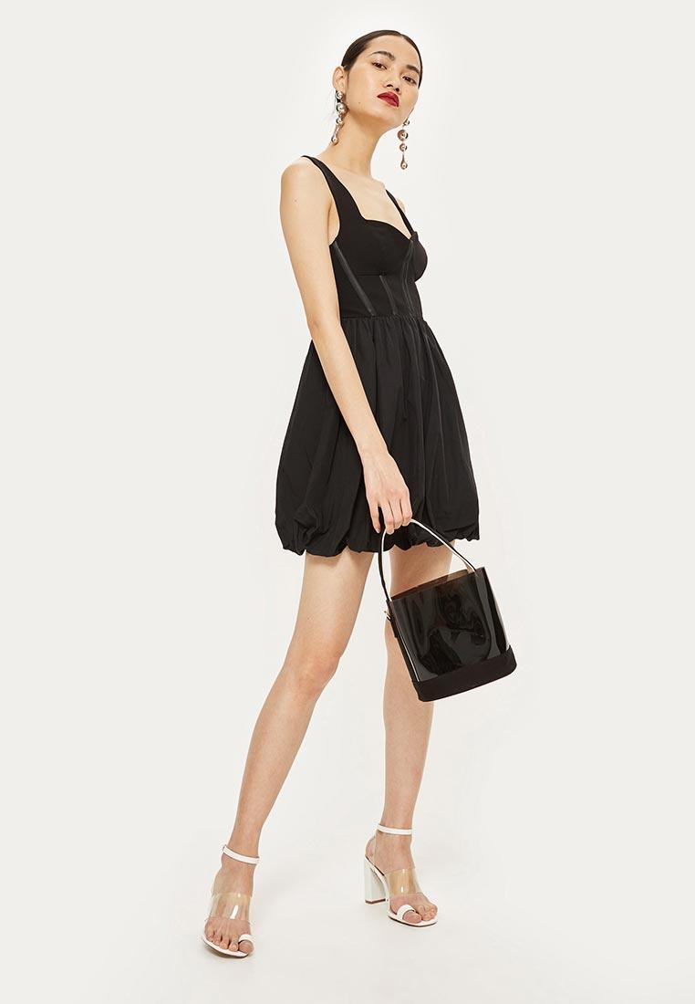 Вечернее / коктейльное платье Topshop (Топ Шоп) 35W21NBLK