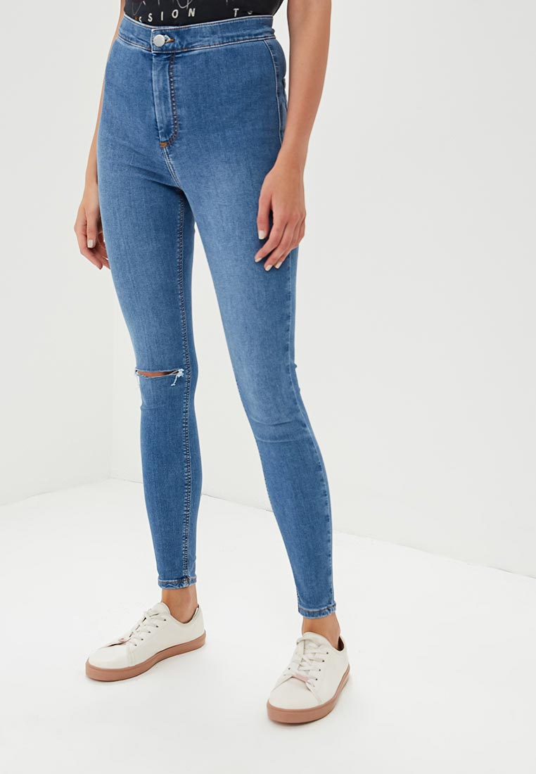 Зауженные джинсы Topshop (Топ Шоп) 02J36NMDT