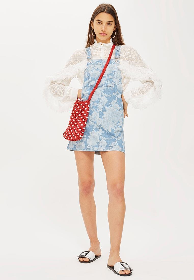 Женские платья-сарафаны Topshop (Топ Шоп) 05G33NBLE