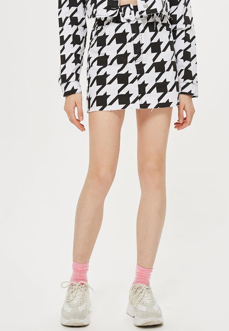 Прямая юбка Topshop (Топшоп) 05S07NBLK