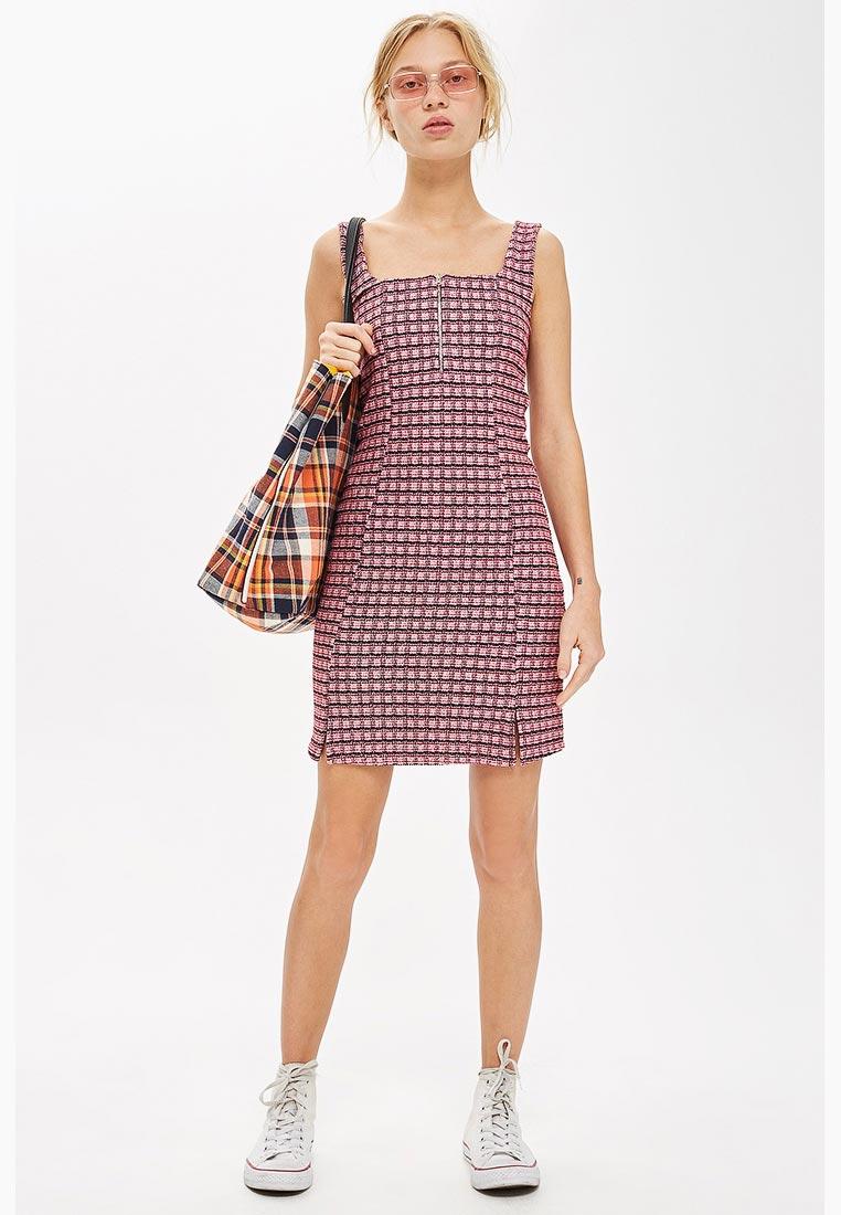 Женские платья-сарафаны Topshop (Топ Шоп) 10D10PPNK