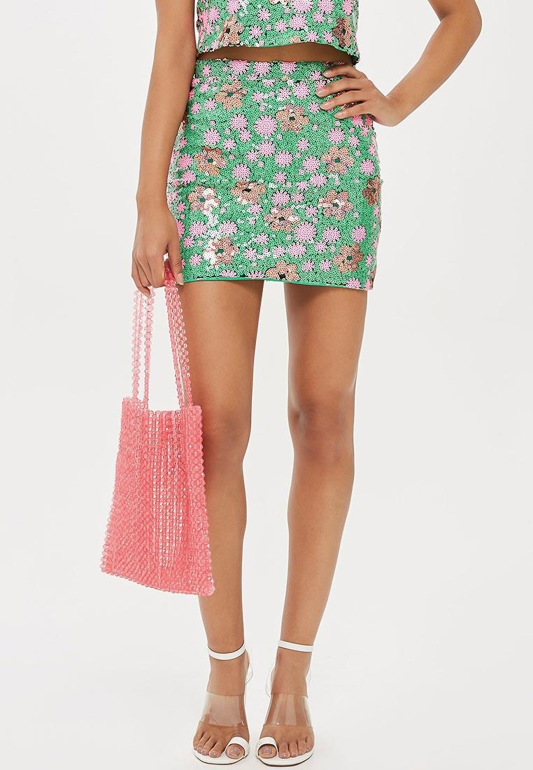 Прямая юбка Topshop (Топшоп) 27S02PGRN