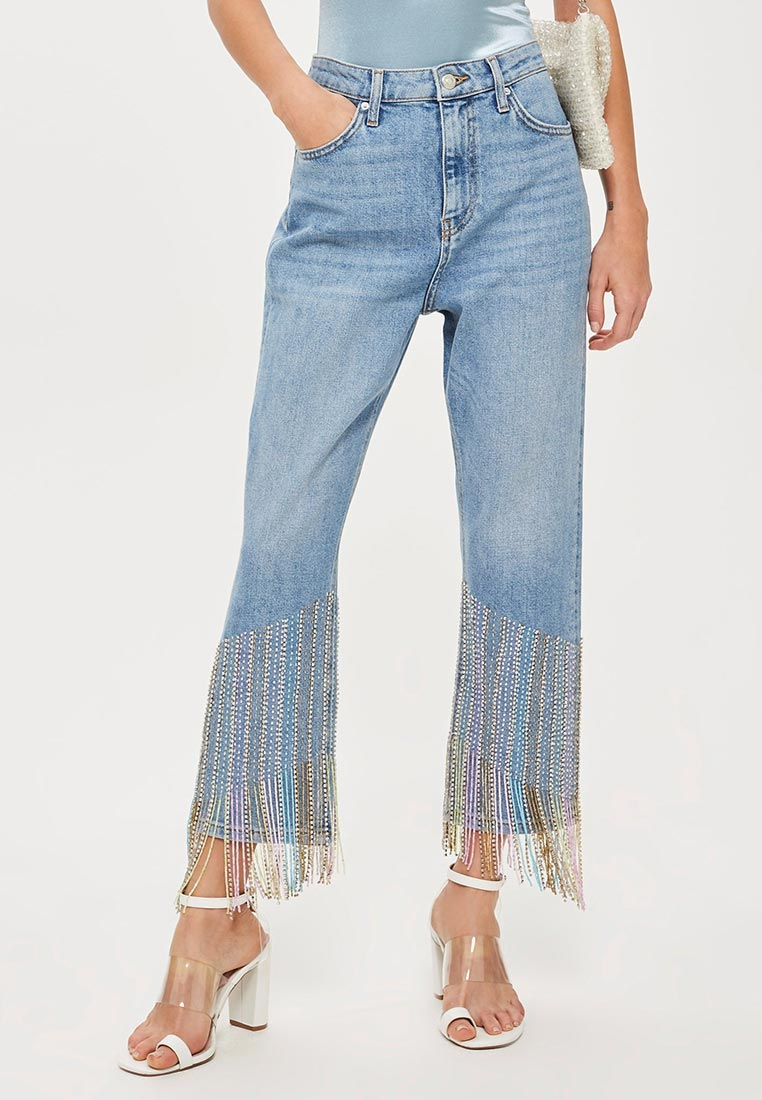 Прямые джинсы Topshop (Топ Шоп) 02G21NMDT