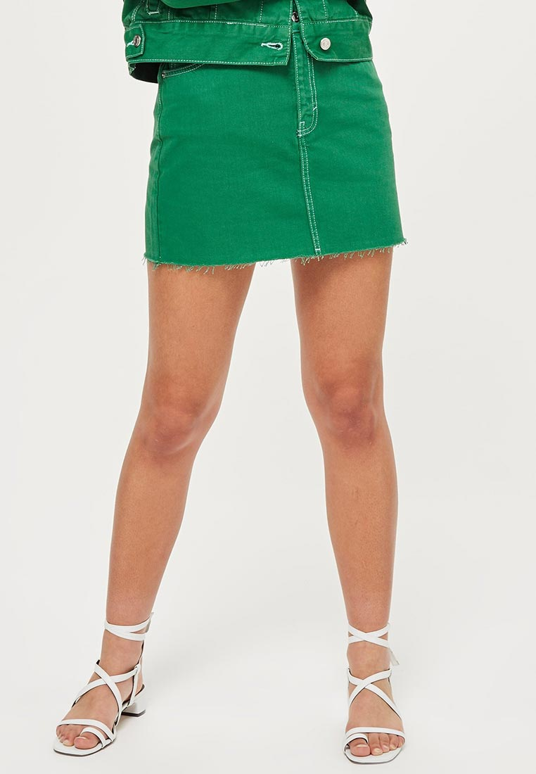 Прямая юбка Topshop (Топшоп) 05R91NGRN