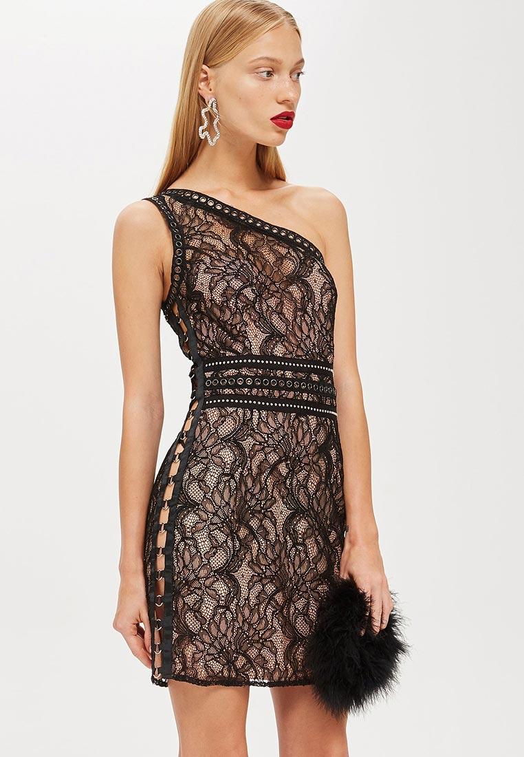 Вечернее / коктейльное платье Topshop (Топ Шоп) 35L10NBLK