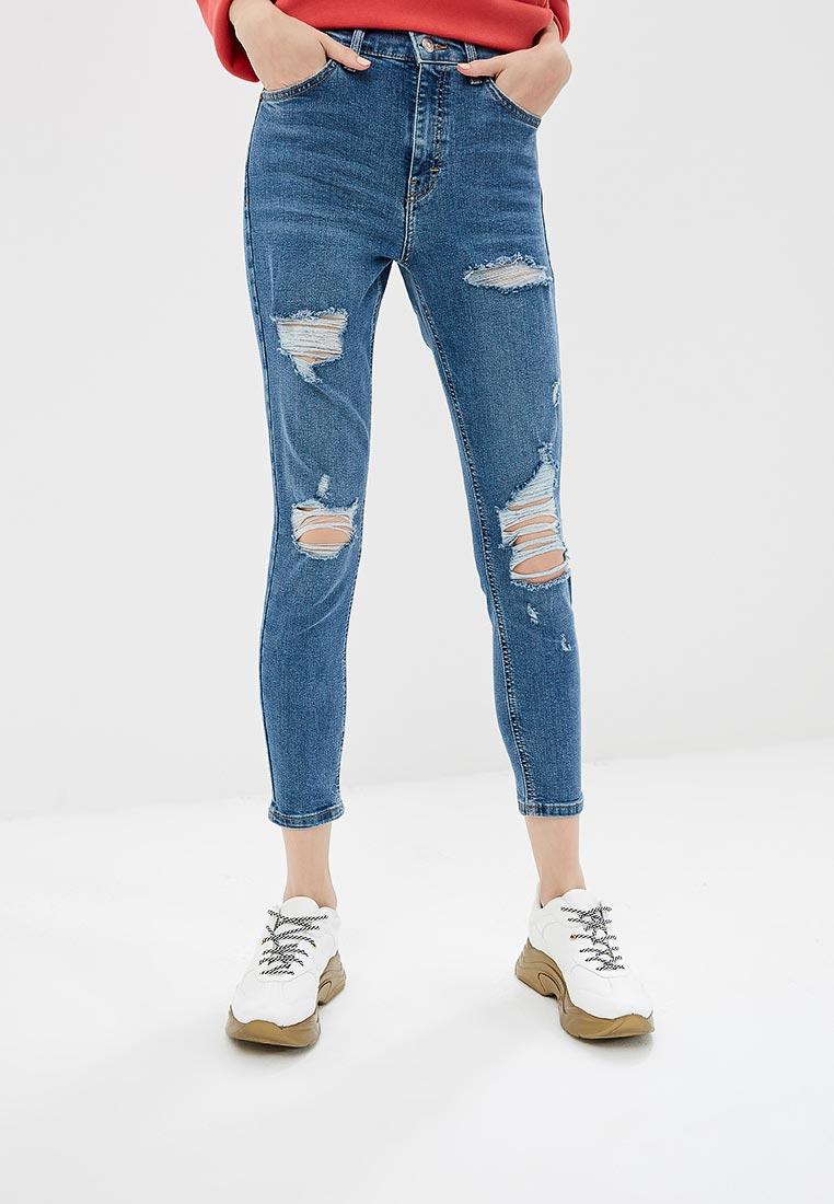 Зауженные джинсы Topshop (Топ Шоп) 02K01PMDT