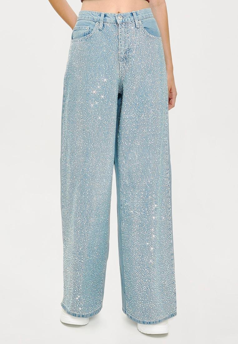 Широкие и расклешенные джинсы Topshop (Топ Шоп) 02C32NBLC