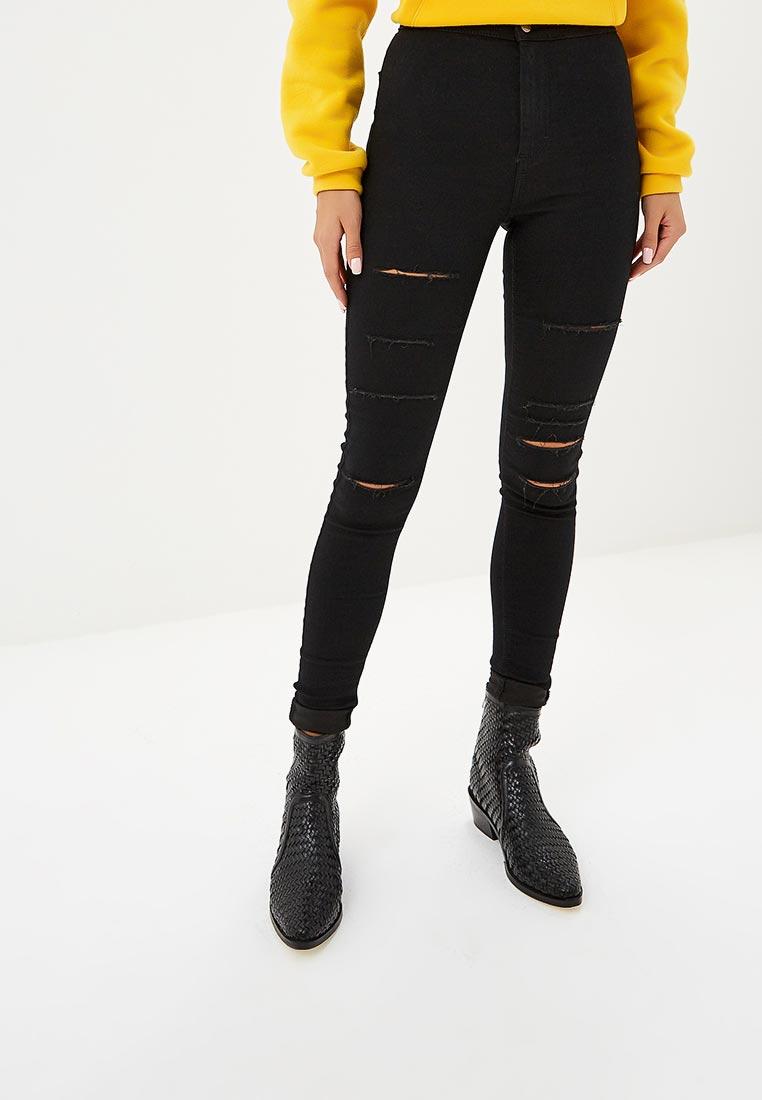 Зауженные джинсы Topshop (Топ Шоп) 02J06PBLK