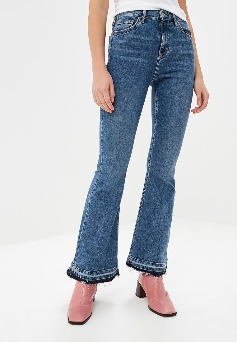 Широкие и расклешенные джинсы Topshop (Топ Шоп) 02K25PMDT