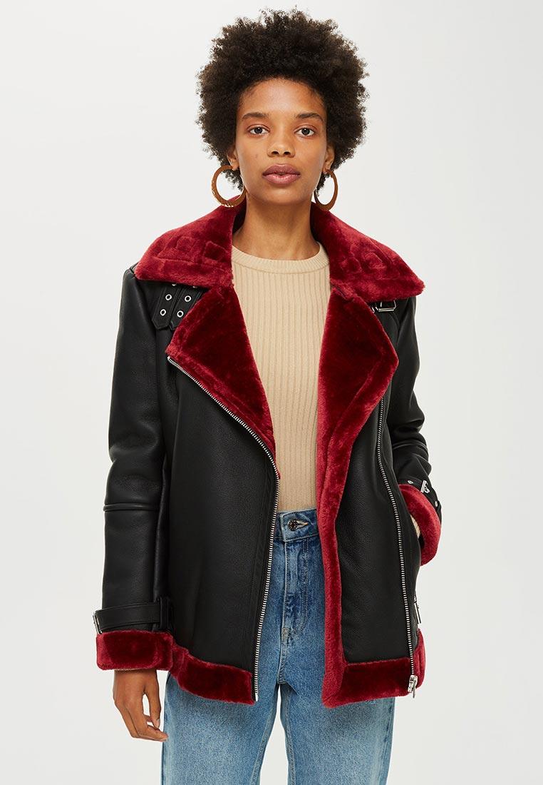 Кожаная куртка Topshop (Топ Шоп) 11A05PBRG