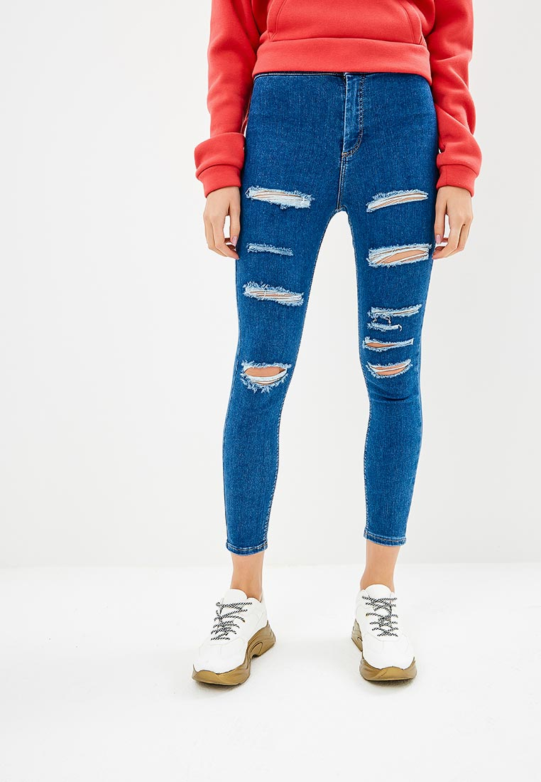 Зауженные джинсы Topshop (Топ Шоп) 02J01PMDT