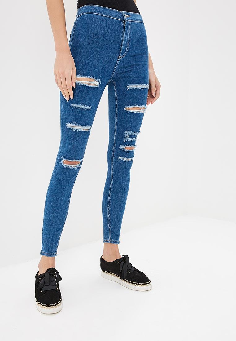 Зауженные джинсы Topshop (Топ Шоп) 02J02PMDT