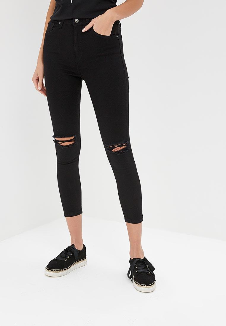 Зауженные джинсы Topshop (Топ Шоп) 02K25PBLK