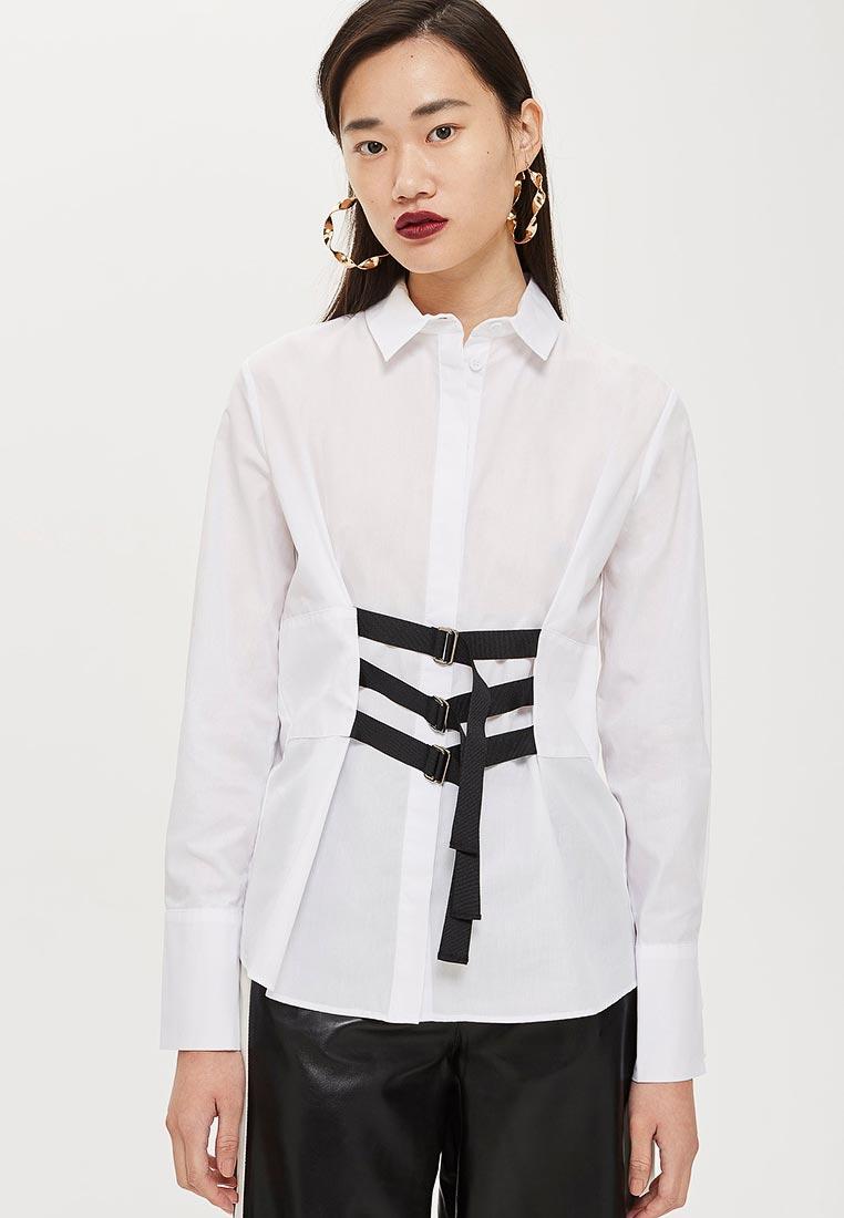 Женские рубашки с длинным рукавом Topshop (Топ Шоп) 13H02MWHT