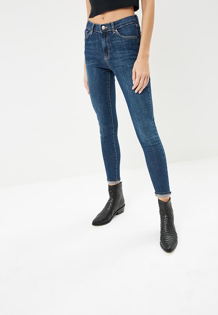Зауженные джинсы Topshop (Топ Шоп) 02L02PIND