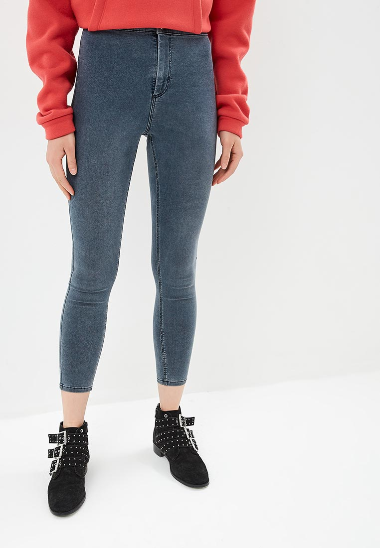 Зауженные джинсы Topshop (Топ Шоп) 02J01PGRY