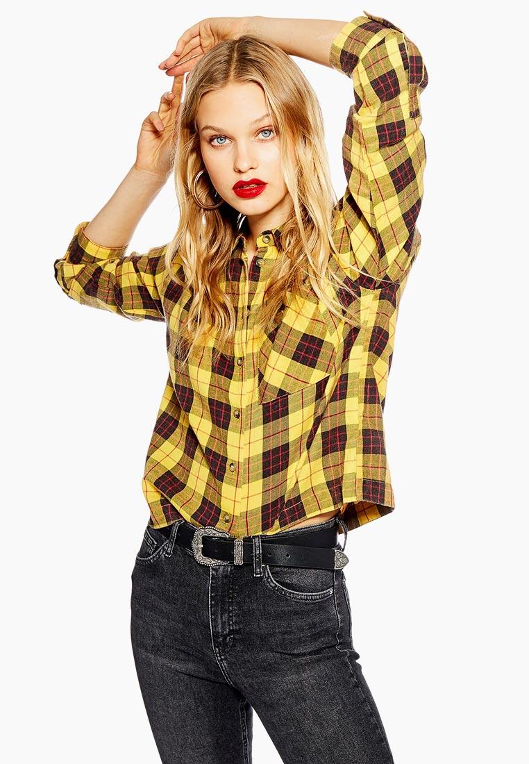 Женские рубашки с длинным рукавом Topshop (Топ Шоп) 13M09PYLW