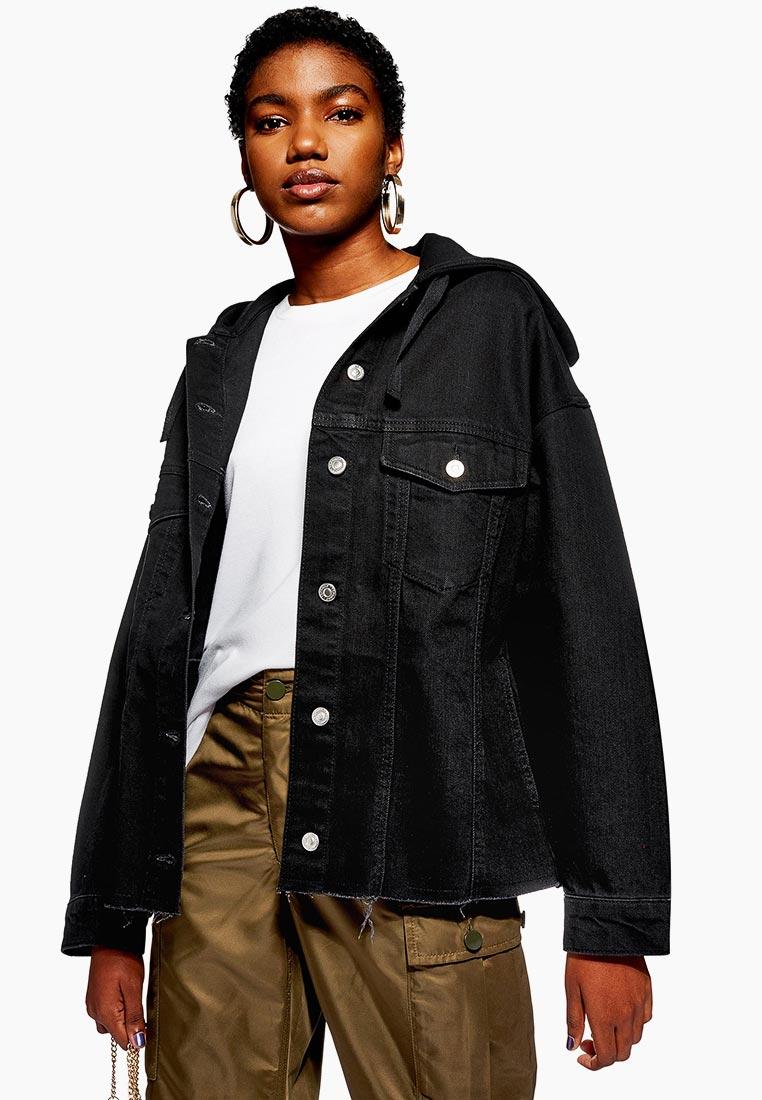 Джинсовая куртка Topshop (Топ Шоп) 05J18QBLK