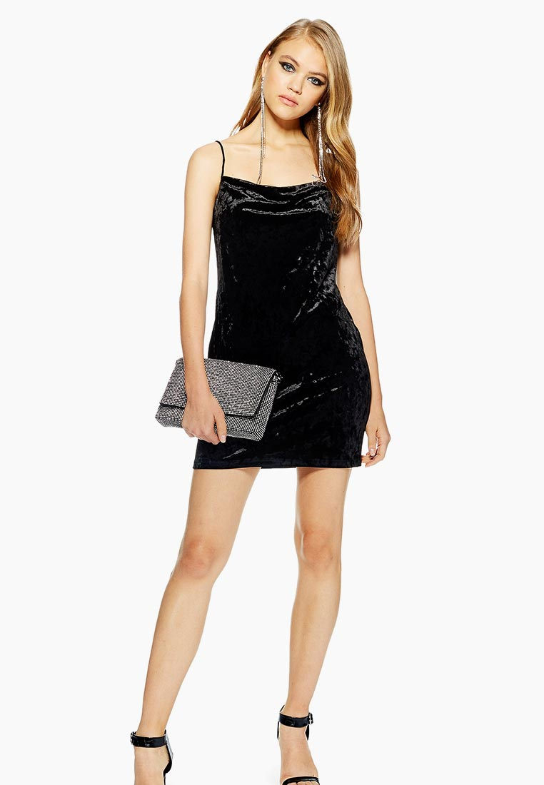Вечернее / коктейльное платье Topshop (Топ Шоп) 10A19PBLK