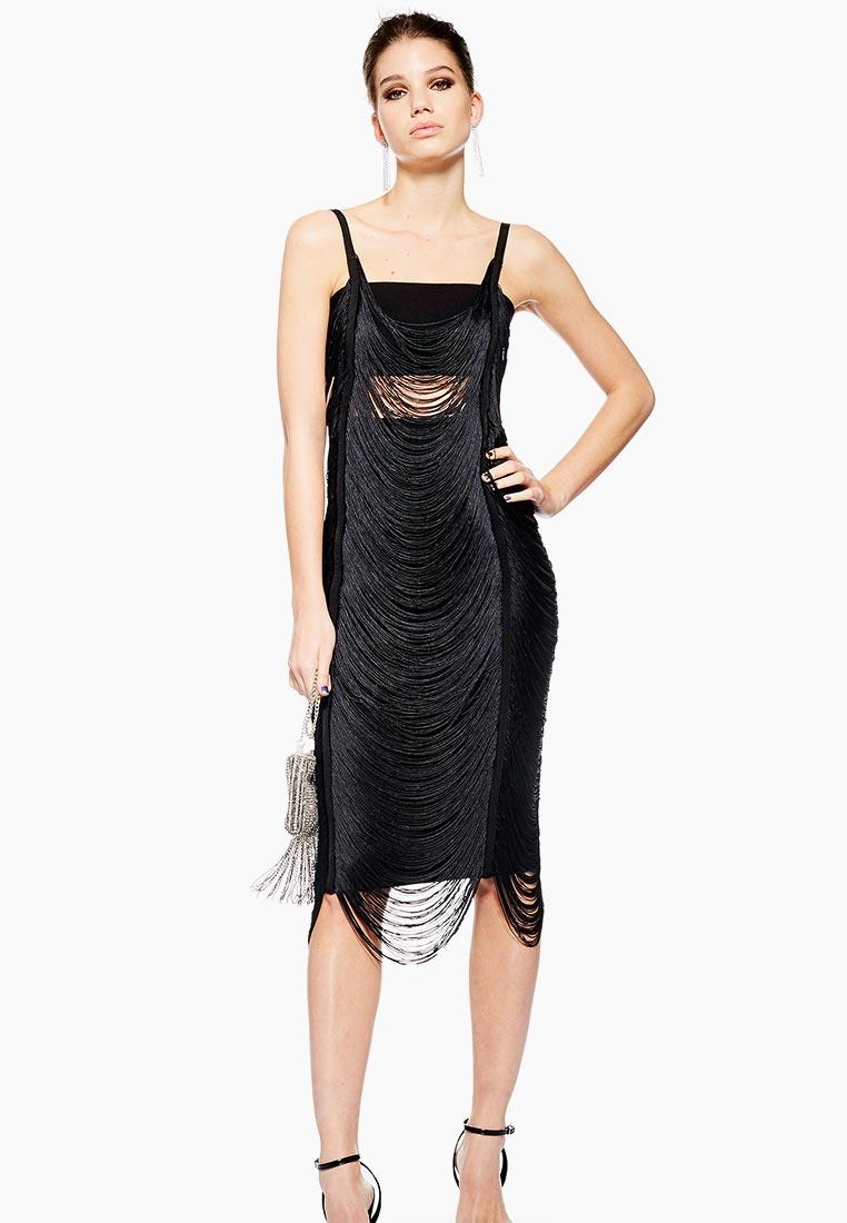 Вечернее / коктейльное платье Topshop (Топшоп) 10A21PBLK