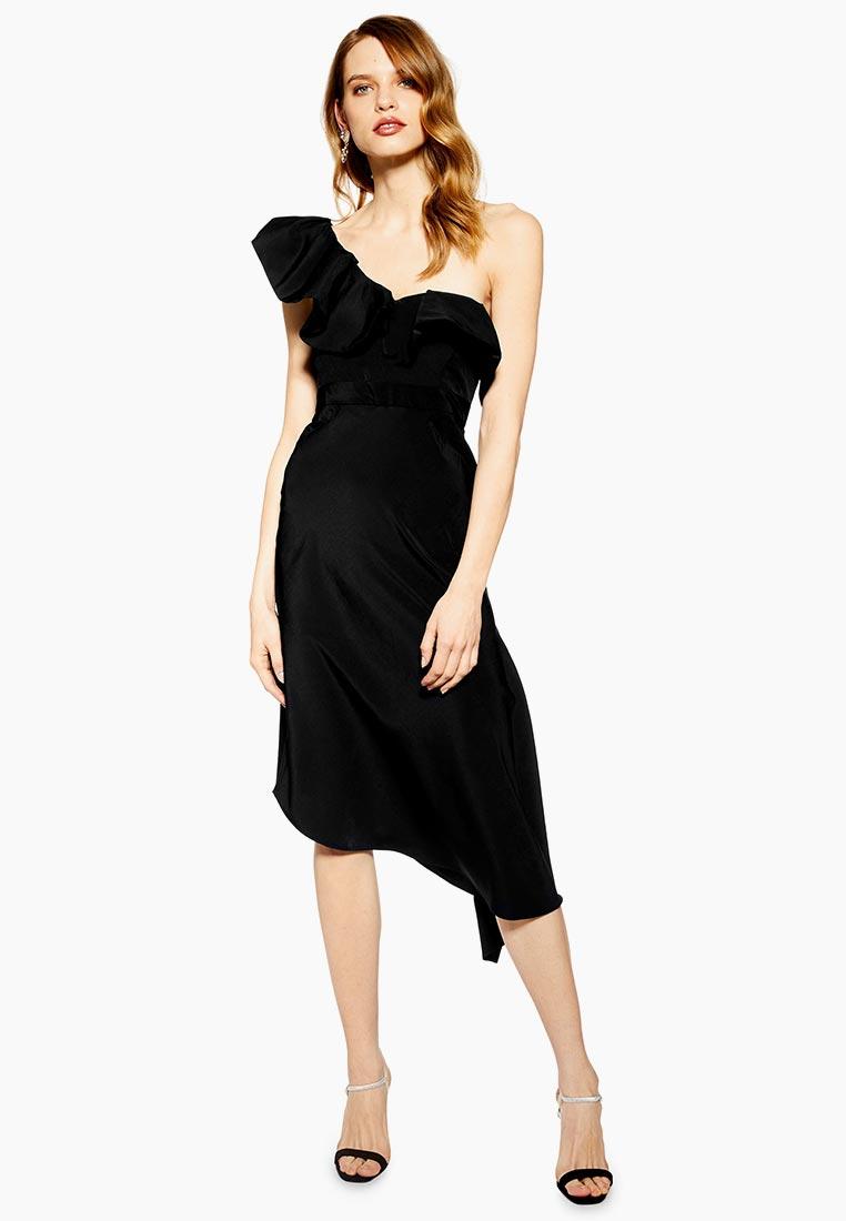 Вечернее / коктейльное платье Topshop (Топ Шоп) 10U23QBLK