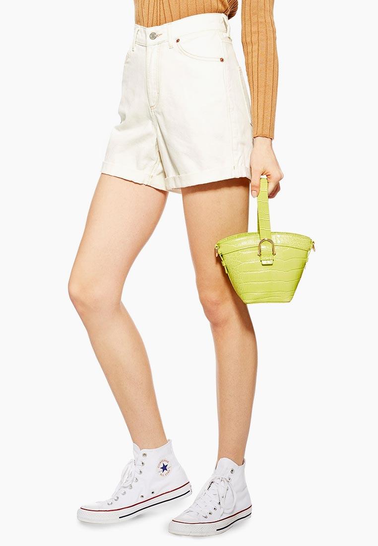 Женские джинсовые шорты Topshop (Топ Шоп) 05A30PWHT
