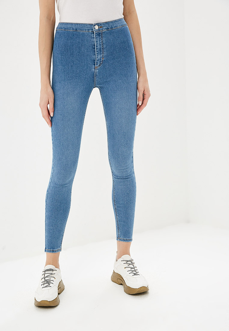Зауженные джинсы Topshop (Топ Шоп) 02J02QBLC