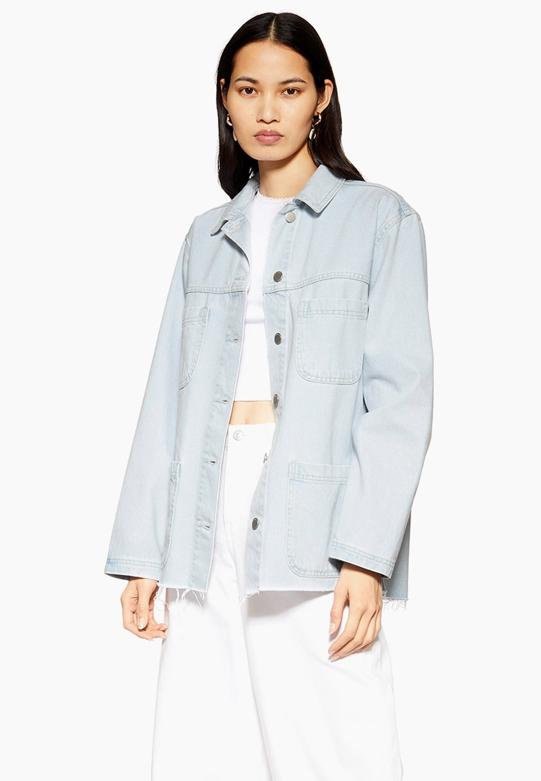Джинсовая куртка Topshop (Топ Шоп) 05J60QBLC