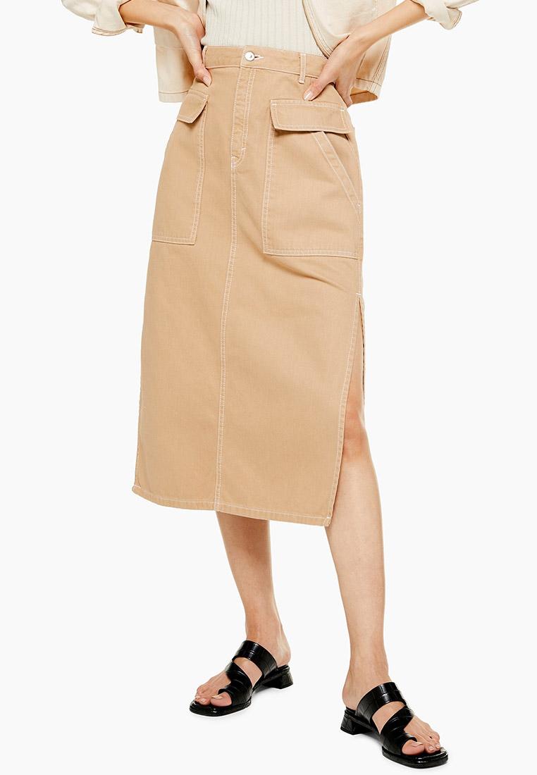 Прямая юбка Topshop (Топ Шоп) 05T80QSND