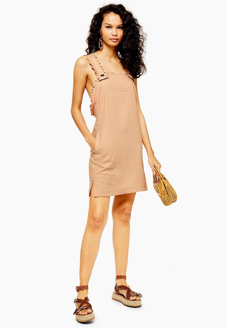 Женские платья-сарафаны Topshop (Топ Шоп) 10C06QTAN