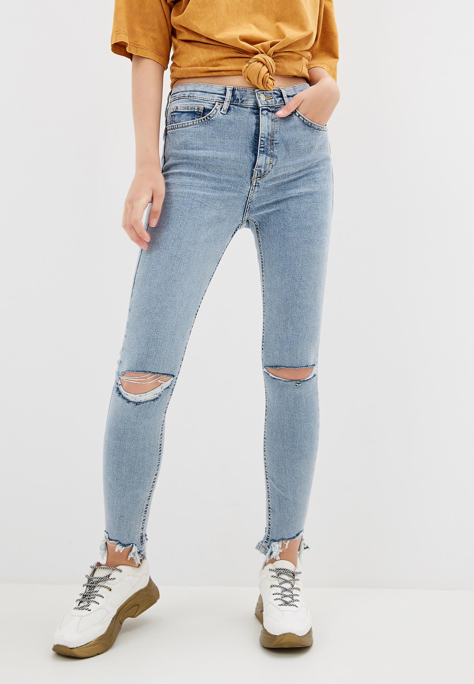 Зауженные джинсы Topshop (Топ Шоп) 02K51QBLC