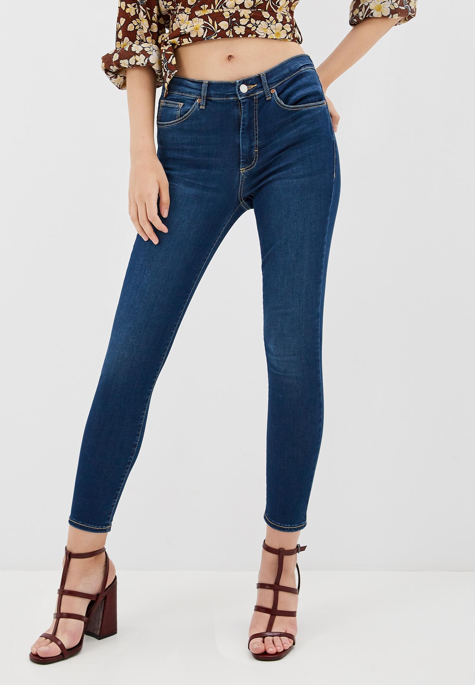 Зауженные джинсы Topshop (Топ Шоп) 02L07QIND