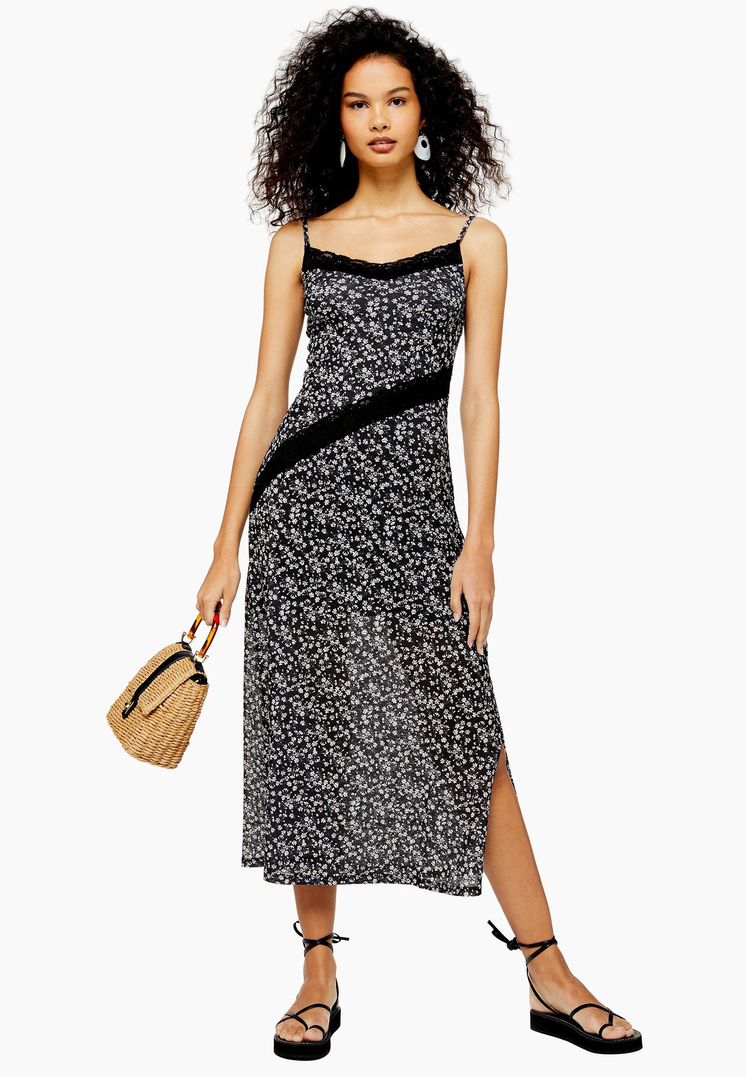 Платье Topshop (Топ Шоп) 10I06RBLK