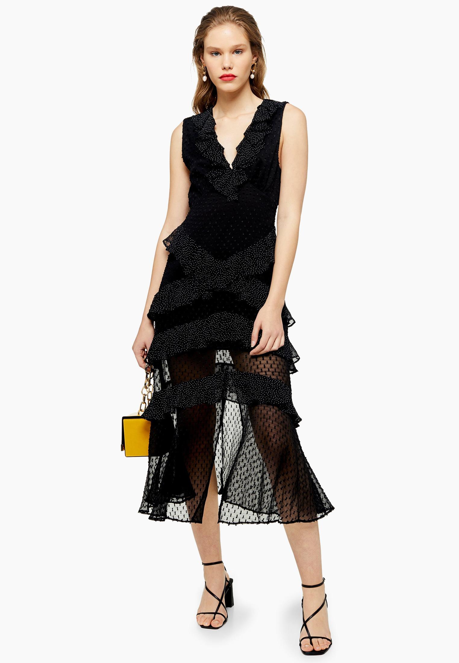 Вечернее / коктейльное платье Topshop (Топ Шоп) 10K04RBLK