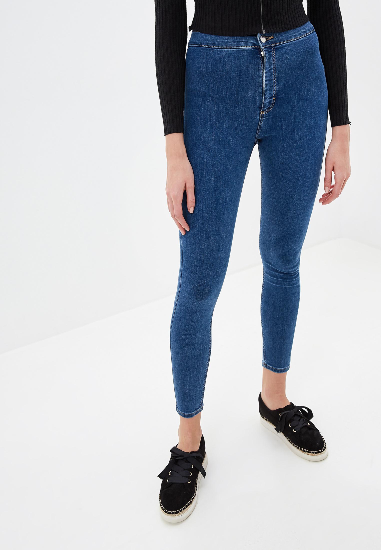 Зауженные джинсы Topshop (Топ Шоп) 02W14RMDT