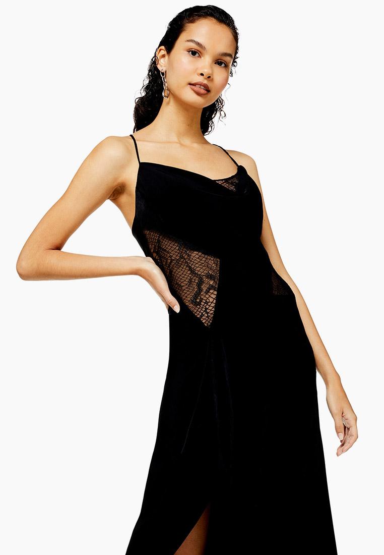 Вечернее / коктейльное платье Topshop (Топ Шоп) 10D02RBLK