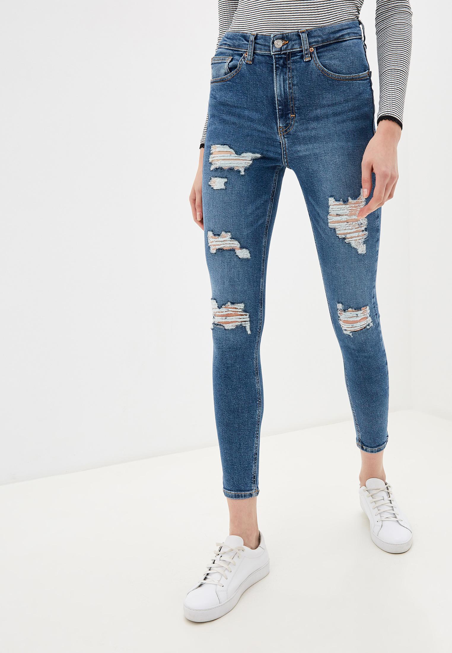 Зауженные джинсы Topshop (Топ Шоп) 02W20RMDT