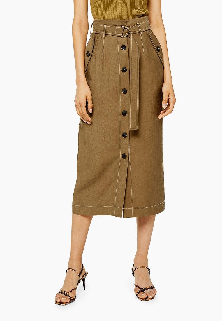 Прямая юбка Topshop (Топ Шоп) 27A03RBRN