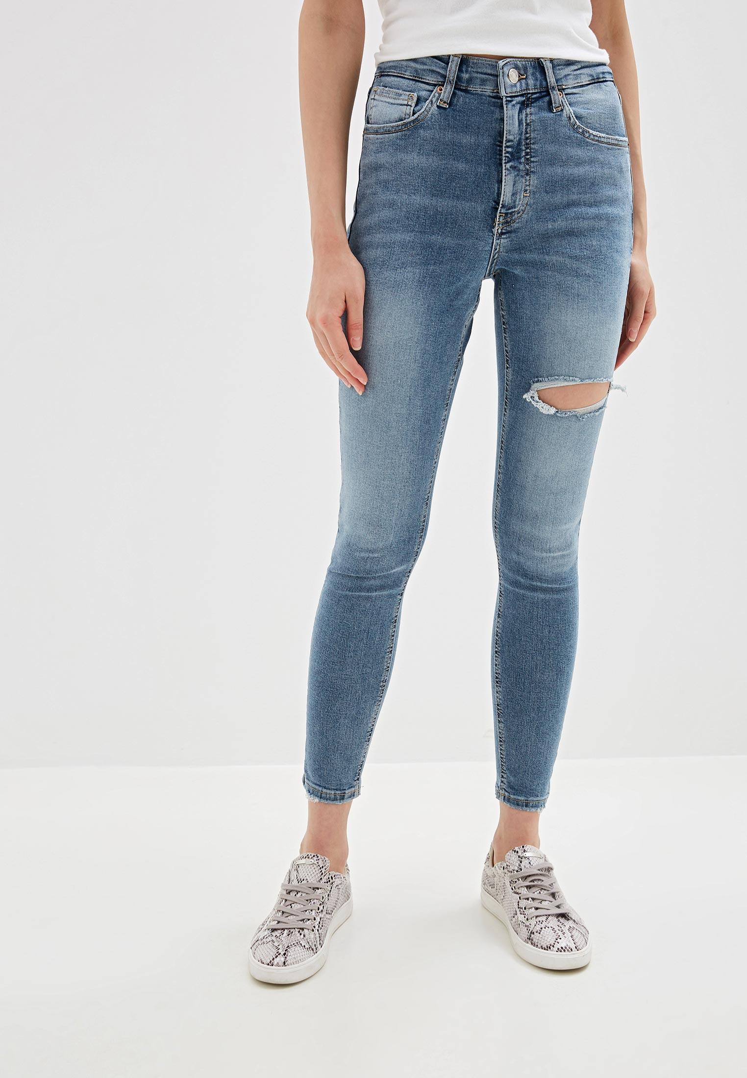 Зауженные джинсы Topshop (Топ Шоп) 02W35RBLC