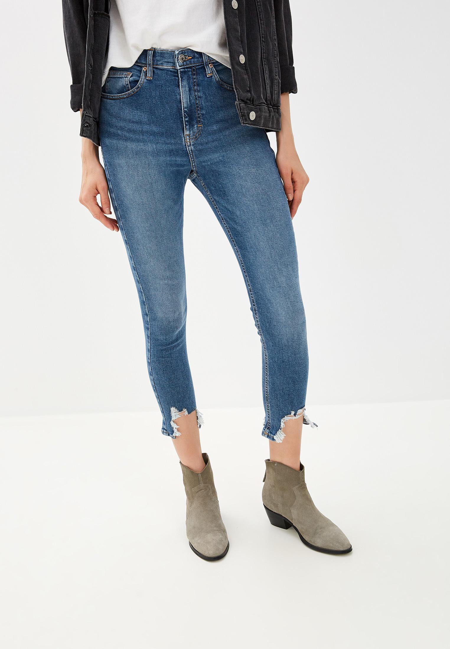 Зауженные джинсы Topshop (Топ Шоп) 02W07RMDT