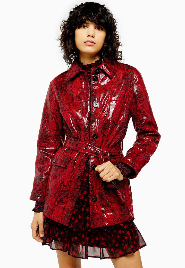 Кожаная куртка Topshop (Топ Шоп) 07L08RRED