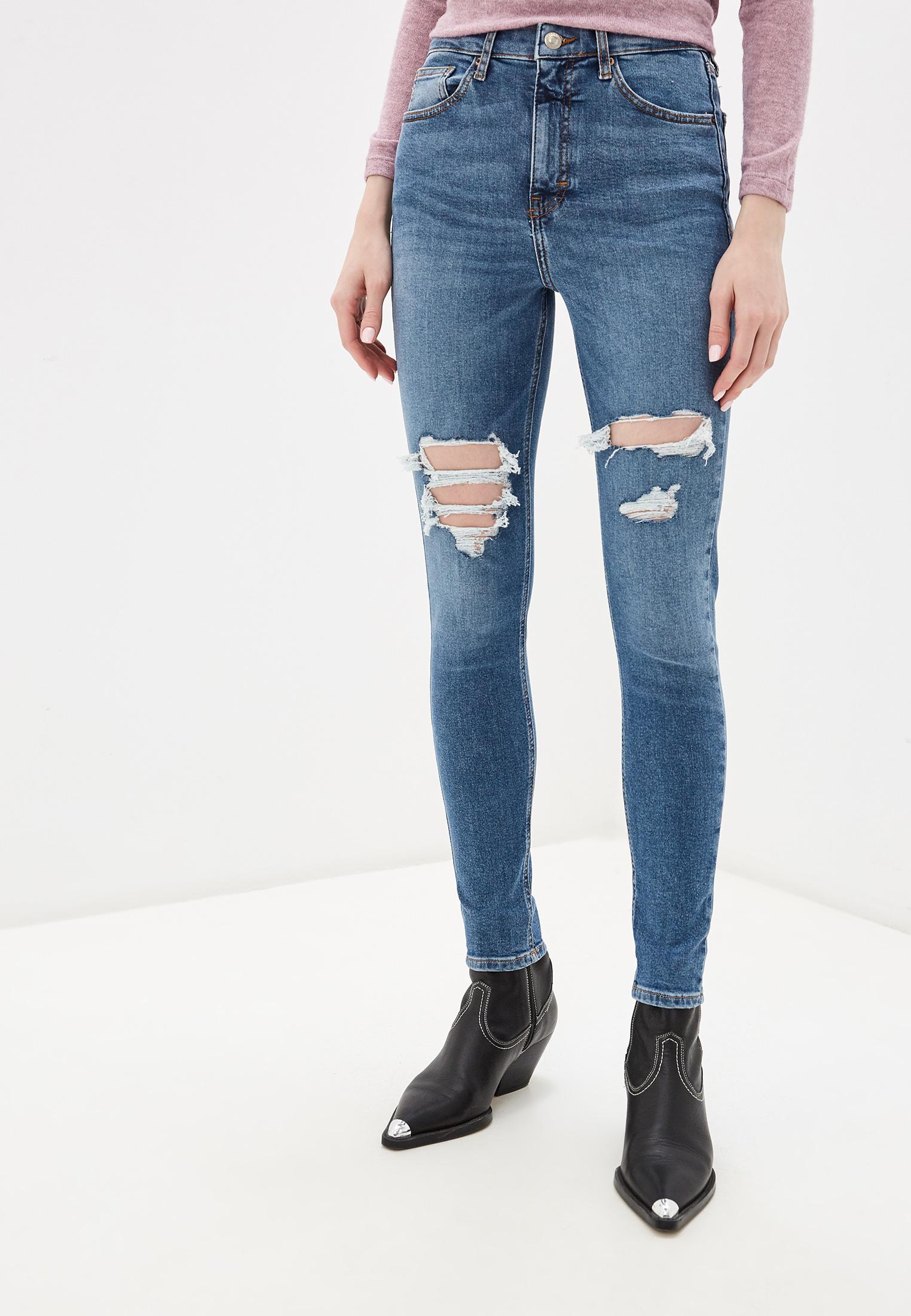 Зауженные джинсы Topshop (Топ Шоп) 02W75RMDT