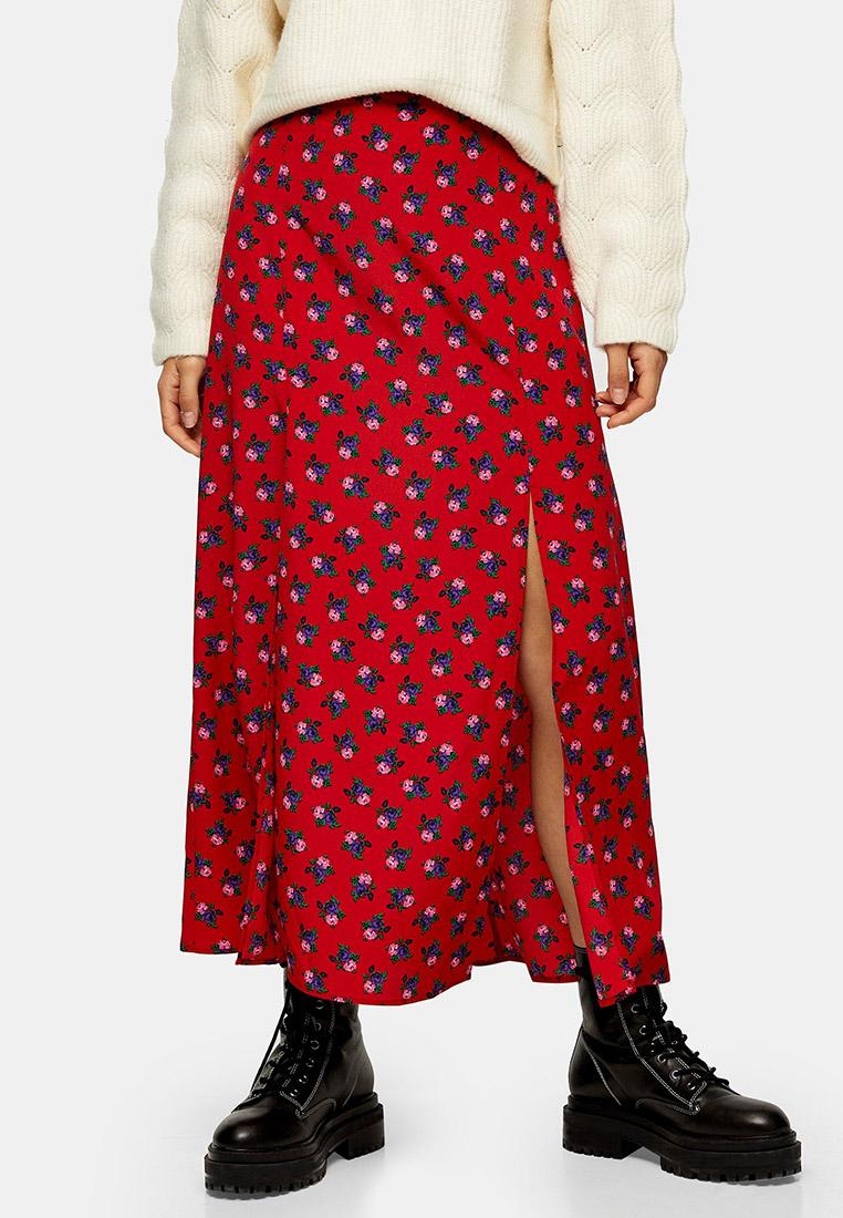 Широкая юбка Topshop (Топшоп) 27N51RRED