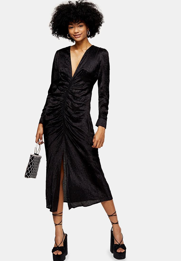 Вечернее / коктейльное платье Topshop (Топ Шоп) 10K39RBLK