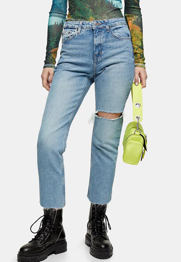 Прямые джинсы Topshop (Топ Шоп) 02G23RBLC