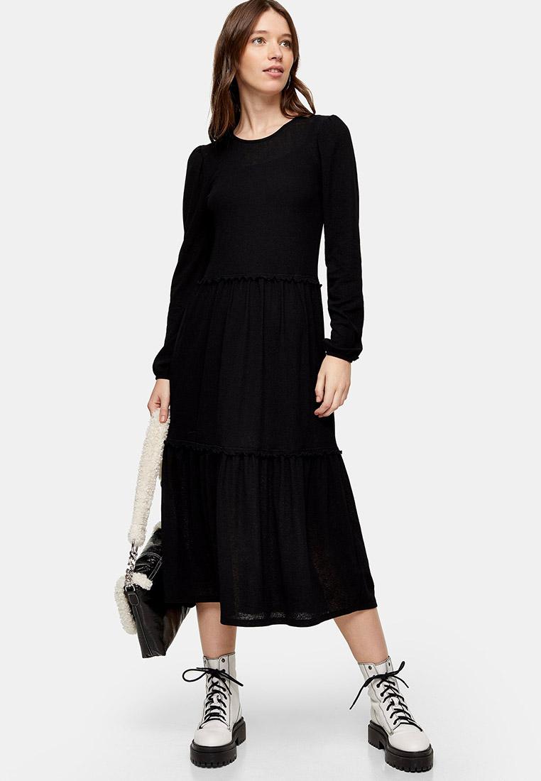 Вязаное платье Topshop (Топ Шоп) 10I08SBLK
