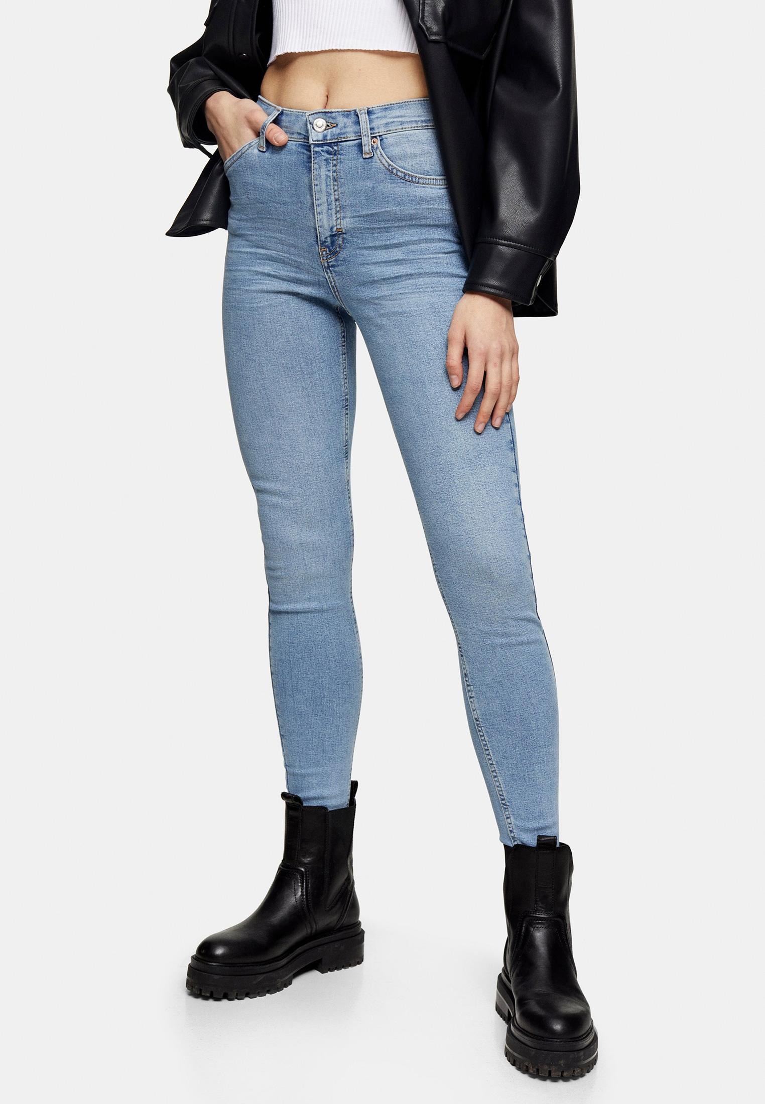 Зауженные джинсы Topshop (Топ Шоп) 02W40SBLC